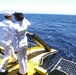 USS Wasp Burial at Sea
