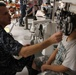 Navy optometrist gives eye exams during Greater Chenango Cares IRT