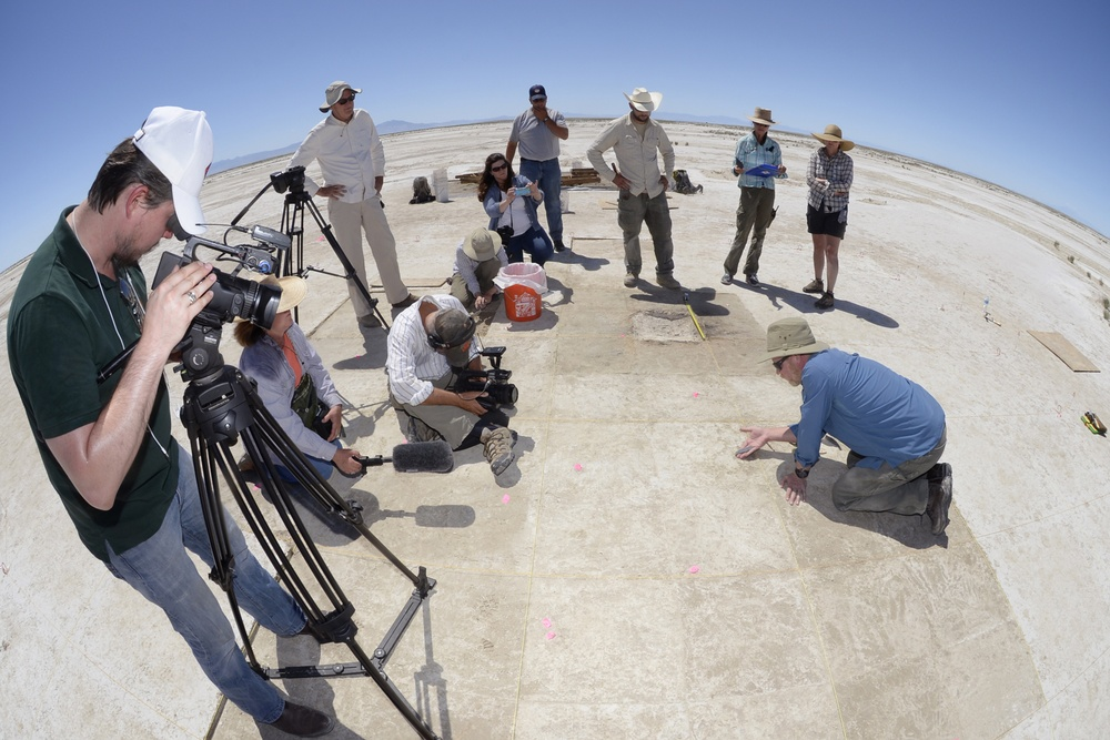 Proof of wetlands, ancient life on the Utah Test and Training Range
