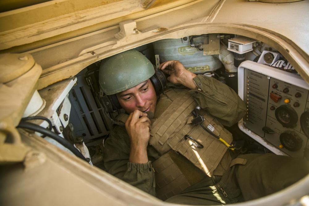 4th Tanks send rounds down range on Camp Pendleton