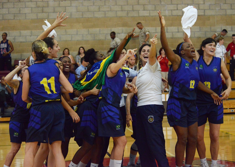 USA takes silver in CISM Women's Basketball