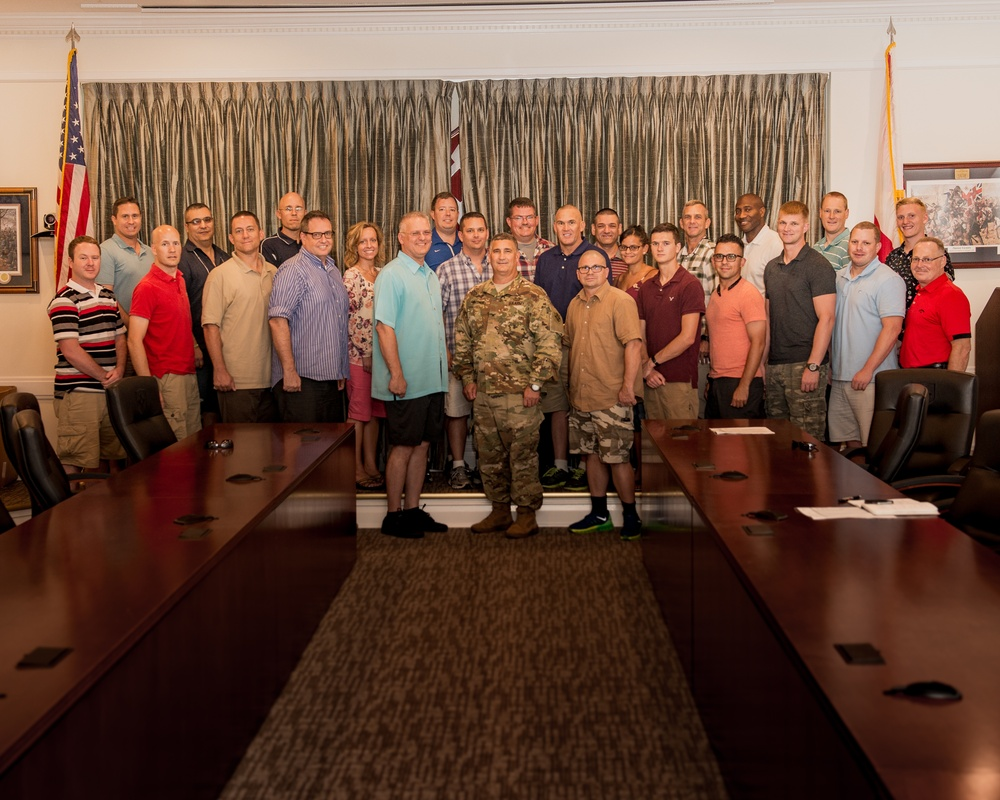 Florida National Guard chaplains train to combat domestic violence