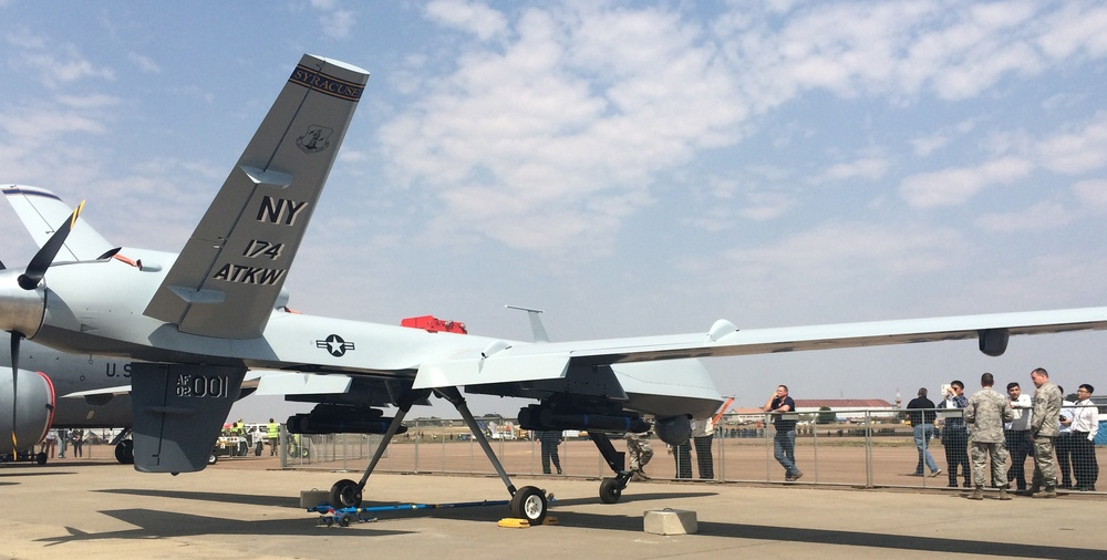 MQ-9 makes debut at South African air show