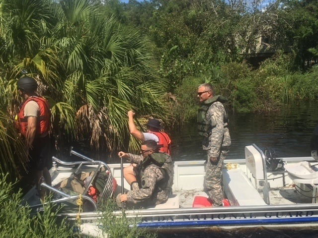 Hurricane Hermine activates a specialized team of emergency military and civilian responders to Florida's West Coast