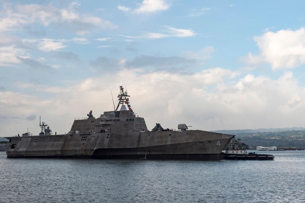 USS Coronado returns to Hawaii