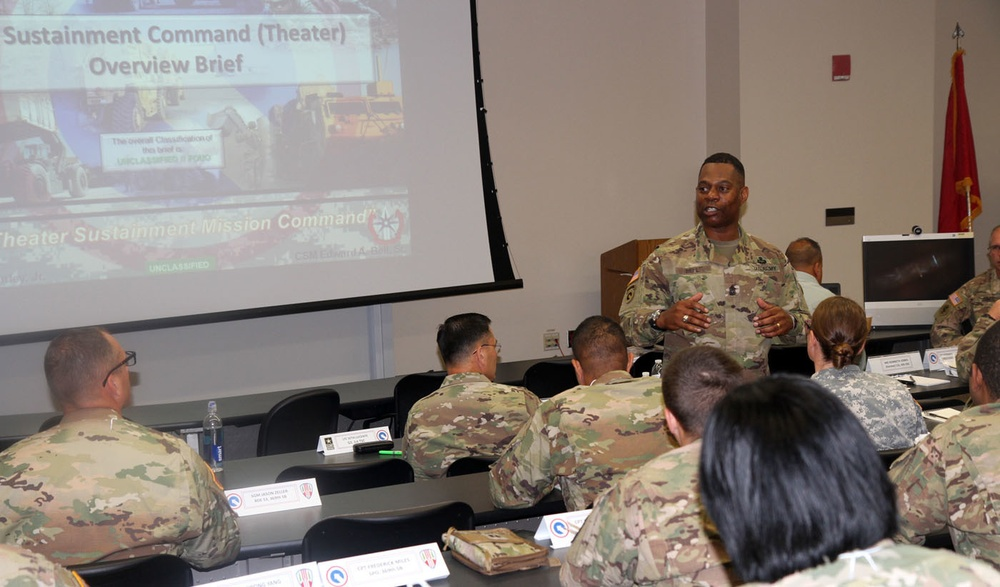 1st TSC prepares National Guard unit for coming deployment