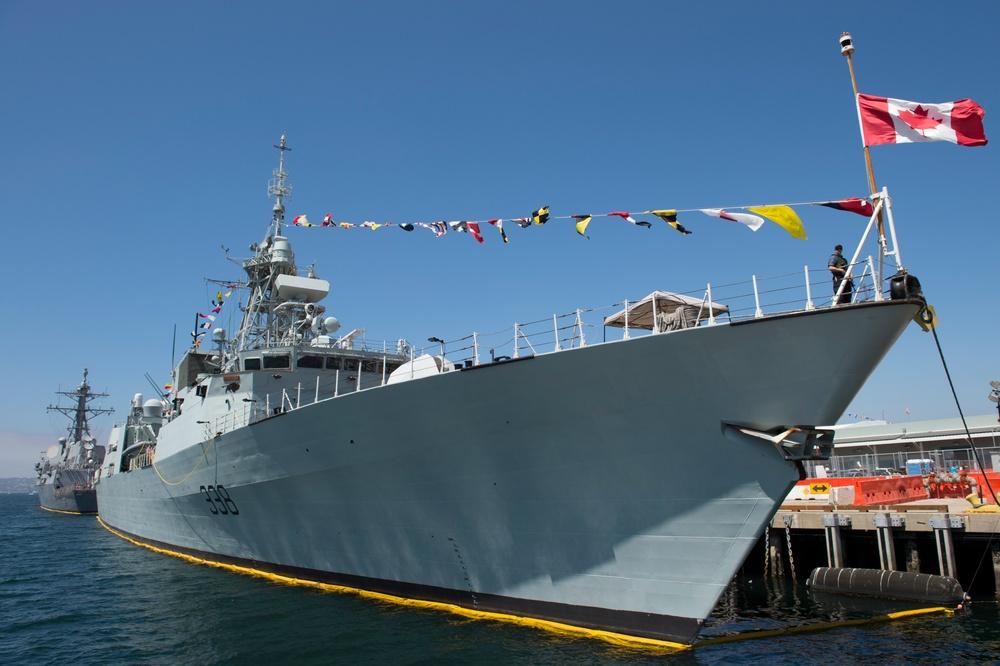 HMCS Winnipeg Visits San Diego