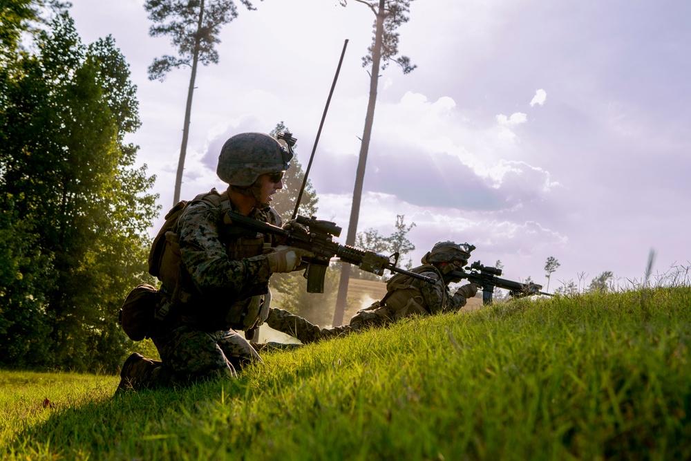 2D LAR Ft. Pickett Training