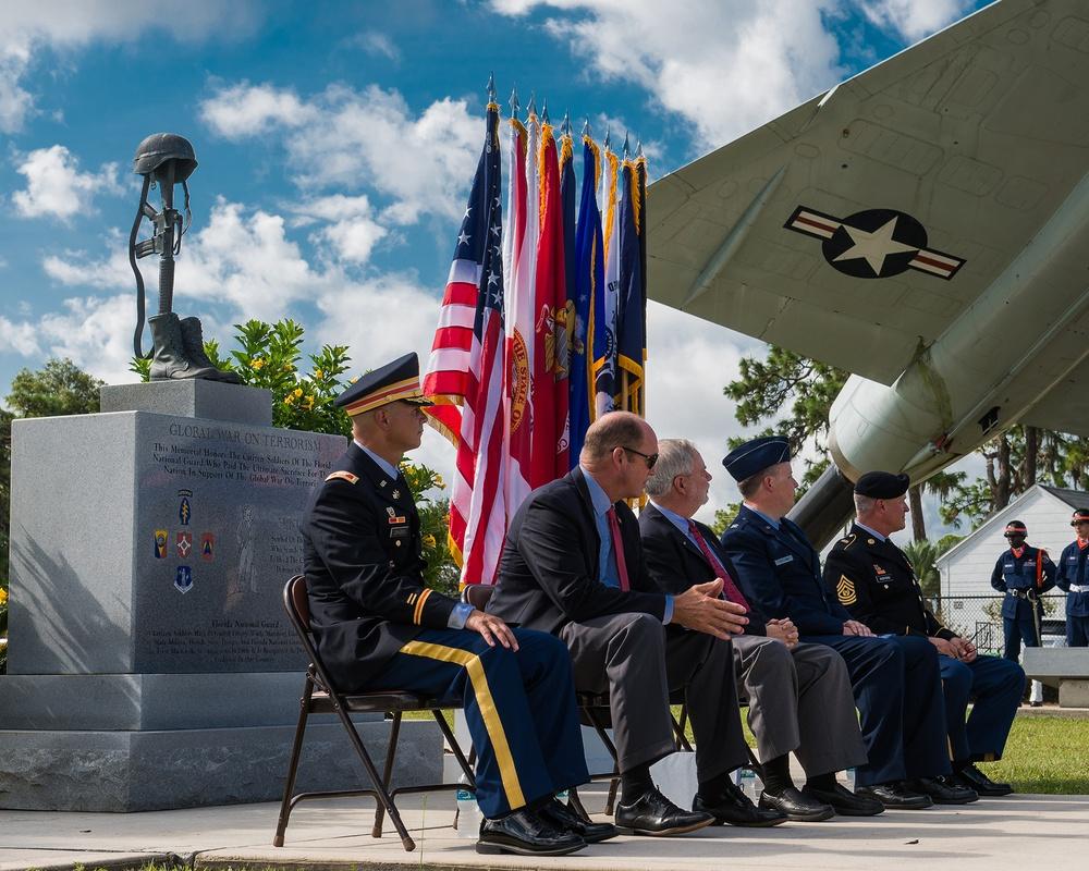 Camp Blanding hosts Global War on Terror Anniversary Ceremony