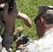 U.S. Marines attending WTI 1-17 establish satellite communications