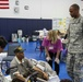 Citizens and Soldiers Come Together as a Community after the Storm