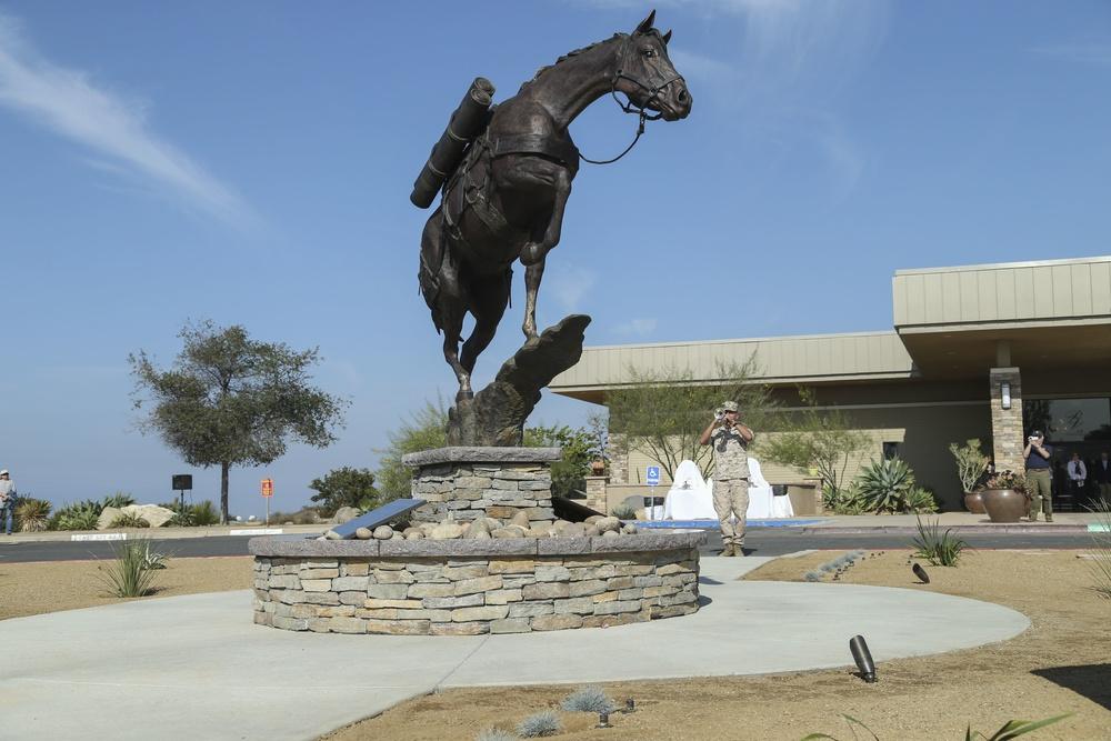 Staff Sergeant Reckless Monument Dedication Ceremony