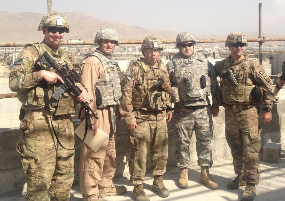 Corps of Engineers Project Management Chief deploying to Afghanistan