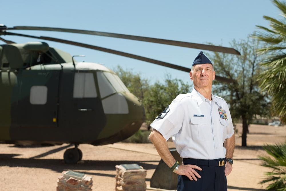 Veterans in Blue: Chief Master Sgt. Craig Bergman