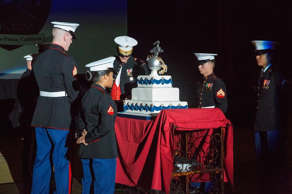 Headquarters Battalion celebrates 241st Marine Corps Birthday