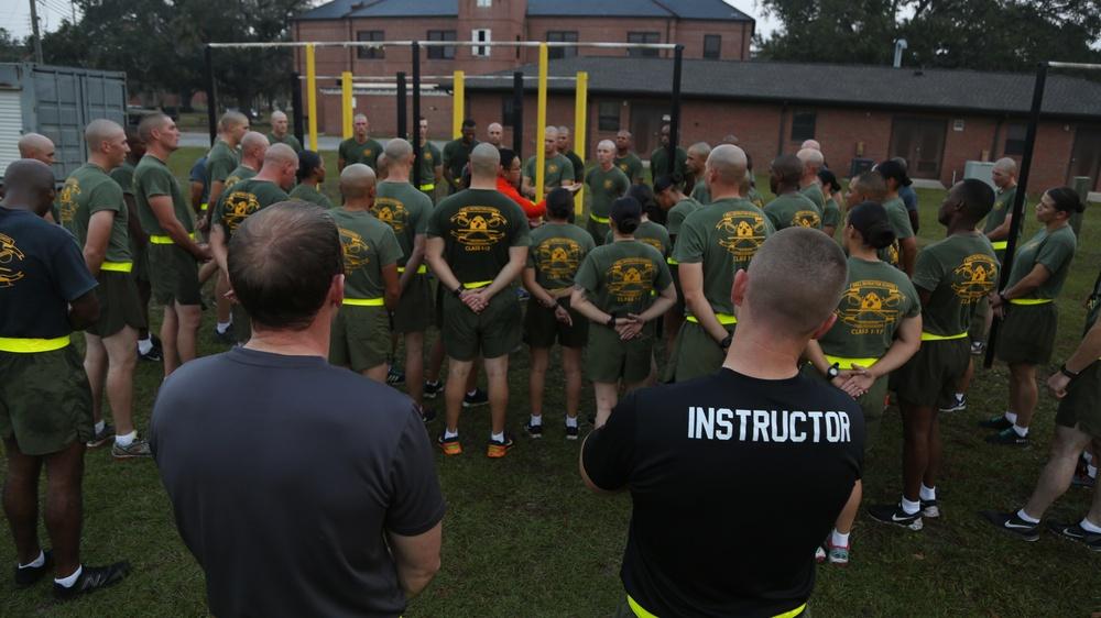 Drill Instructor School Class 1-17