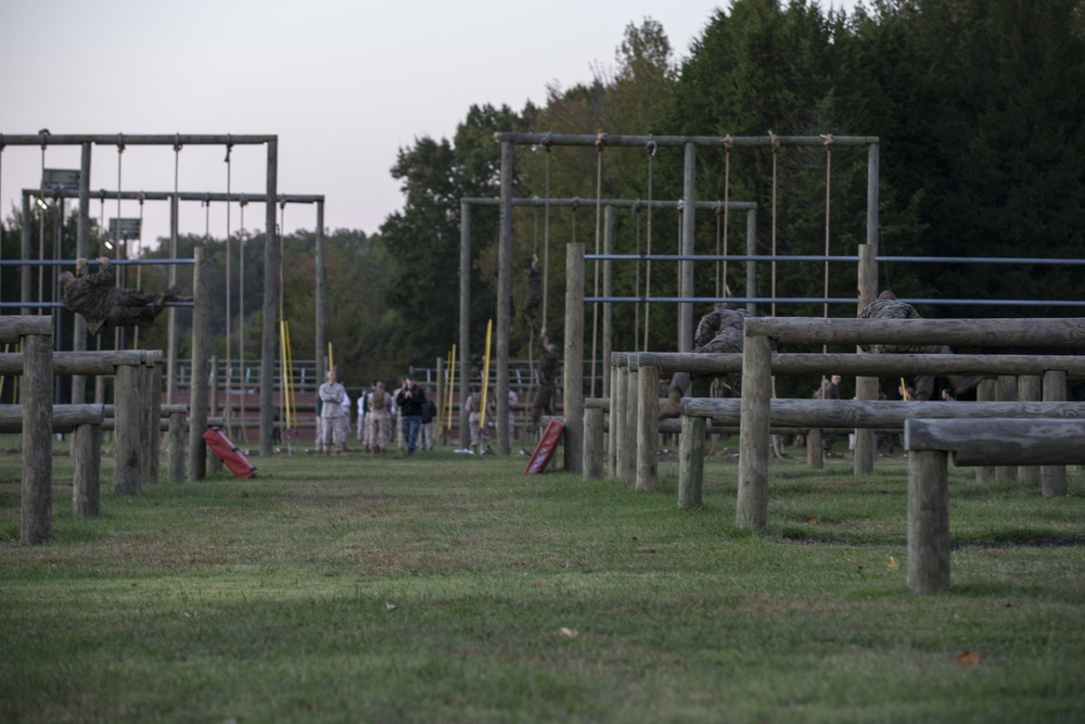 OCS OBSTACLE COURSE