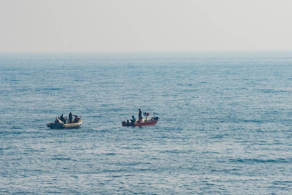 USS Nitze Assists Stranded Iranian Mariners