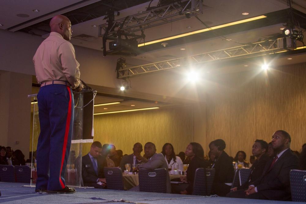 Marines Attend 2016 Thurgood Marshall College Fund Leadership Institute