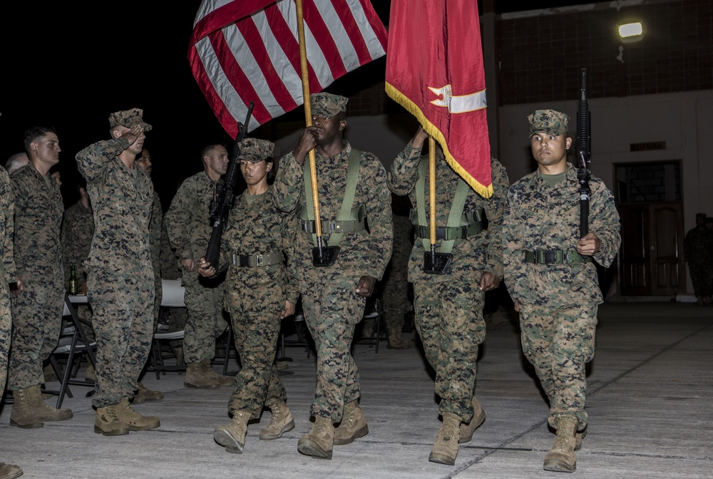 SPMAGTF-SC Marines Celebrate 241st Marine Corps Ball in Honduras