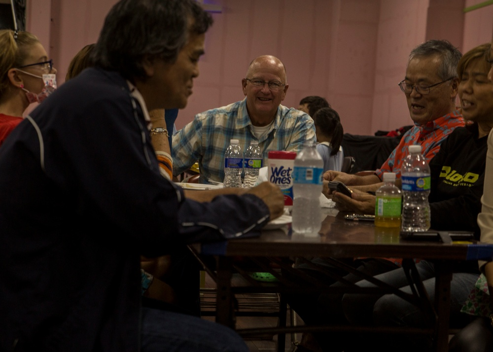 Two Fishes Project: 3d MEB Celebrates Thanksgiving with Okinawan Community