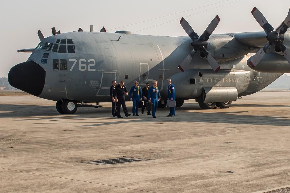 Blue Angels visit Fightertown