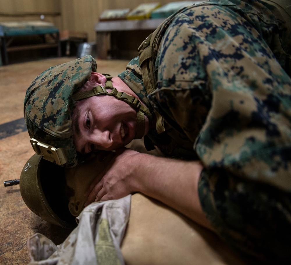 Marines learn to save lives