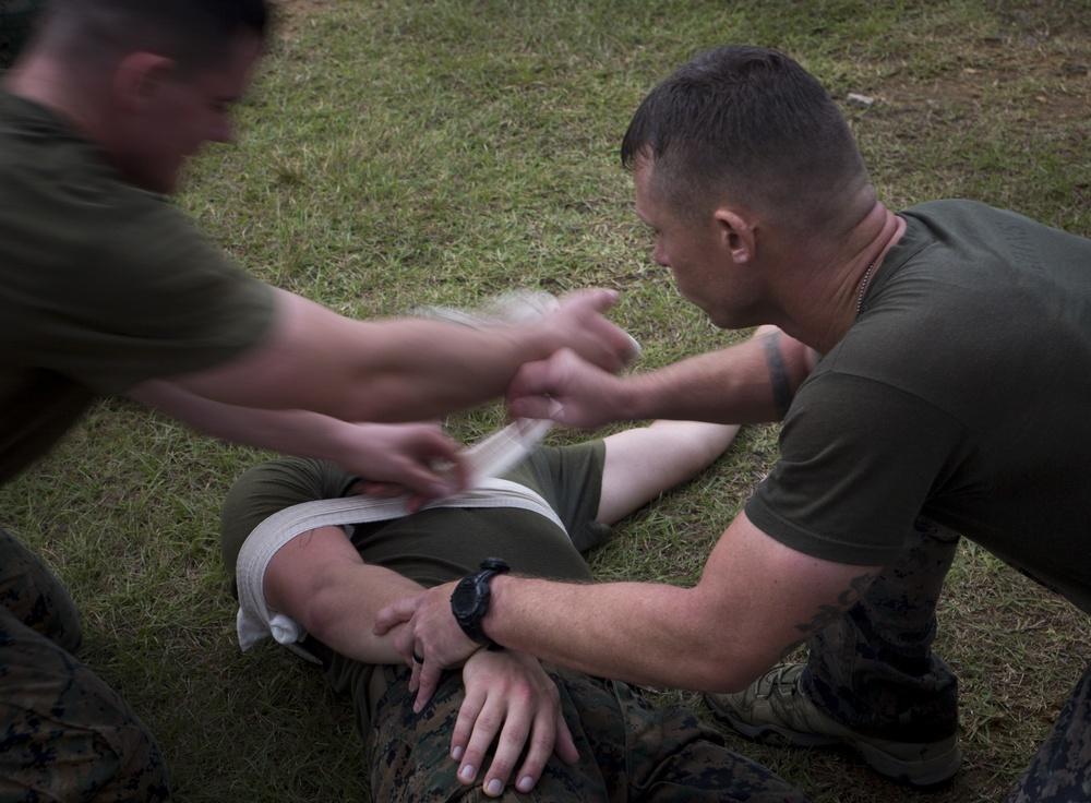 Recon Marines Honor Fallen Brothers During Warrior Challenge 2016