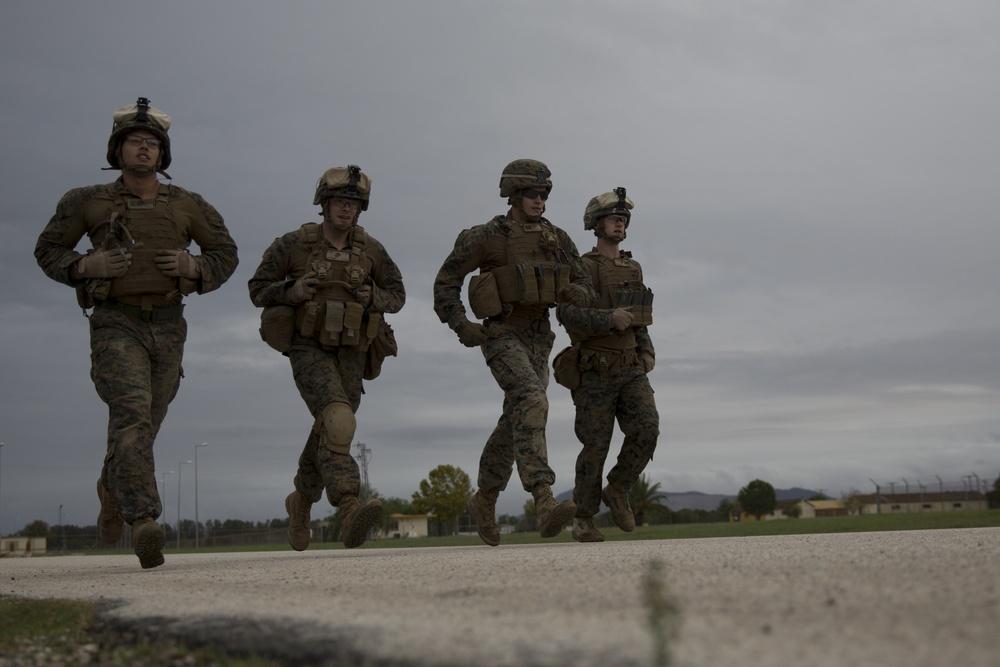 Marines maintain combat readiness at live-fire range