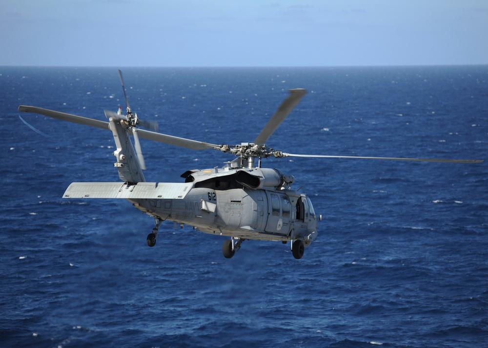 Sea Hawk Lifts Off