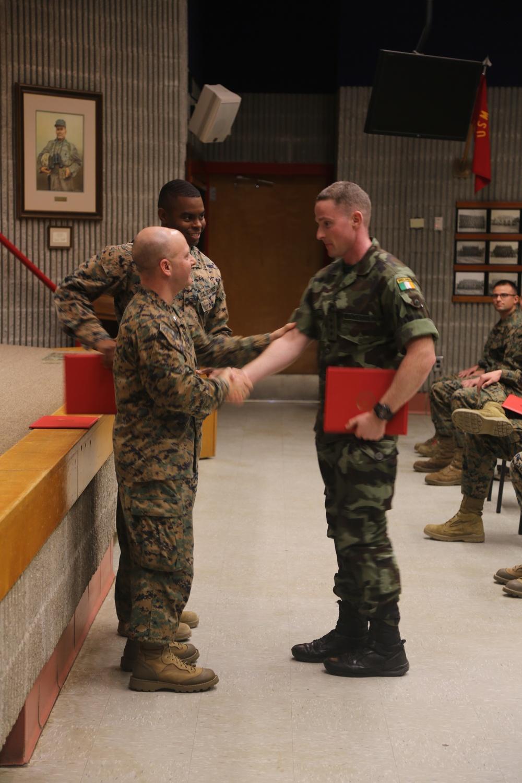 Series Commander Course Class 2-17 Graduation