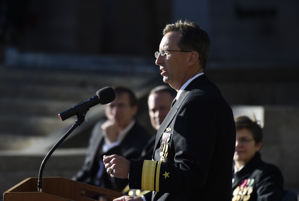 Office of Naval Research Change of Command