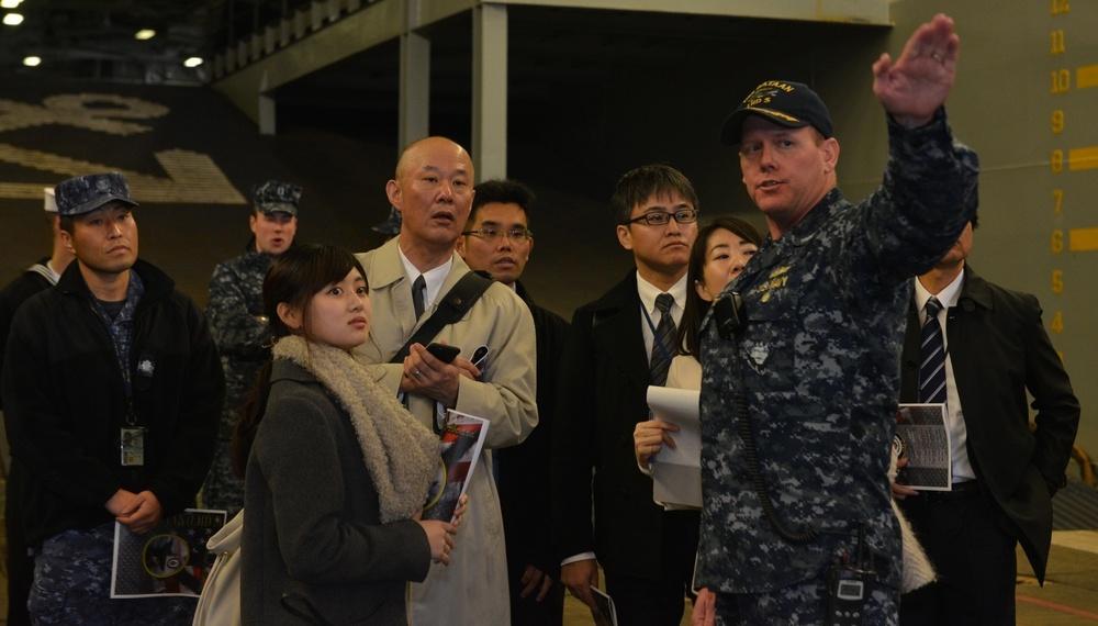 Japanese Military Defense Tour