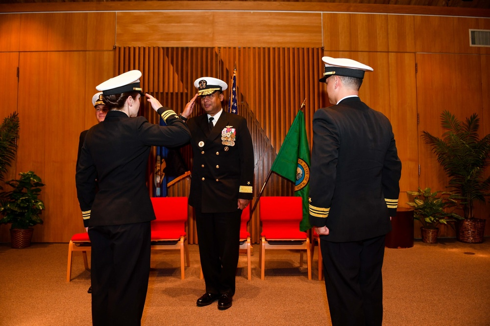 Puget Sound Transient Personnel Unit Welcomes New Commanding Officer