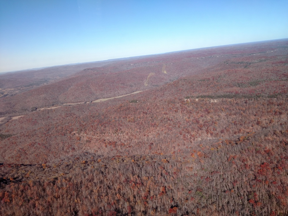 Aerial Shot Sevier County