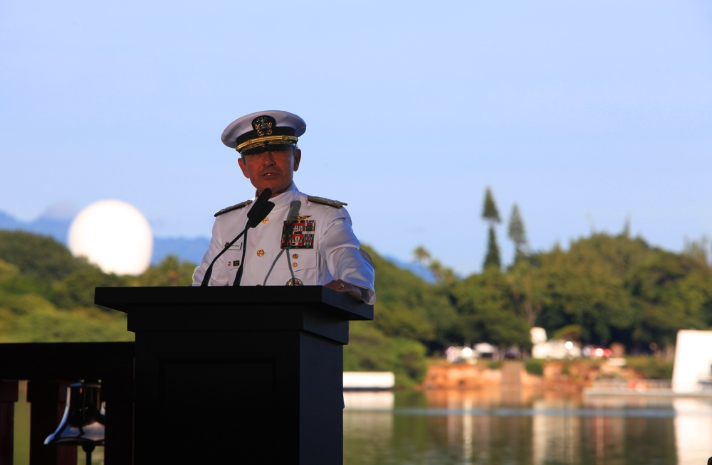 75th National Pearl Harbor Rememberance Day Commemoration Ceremony