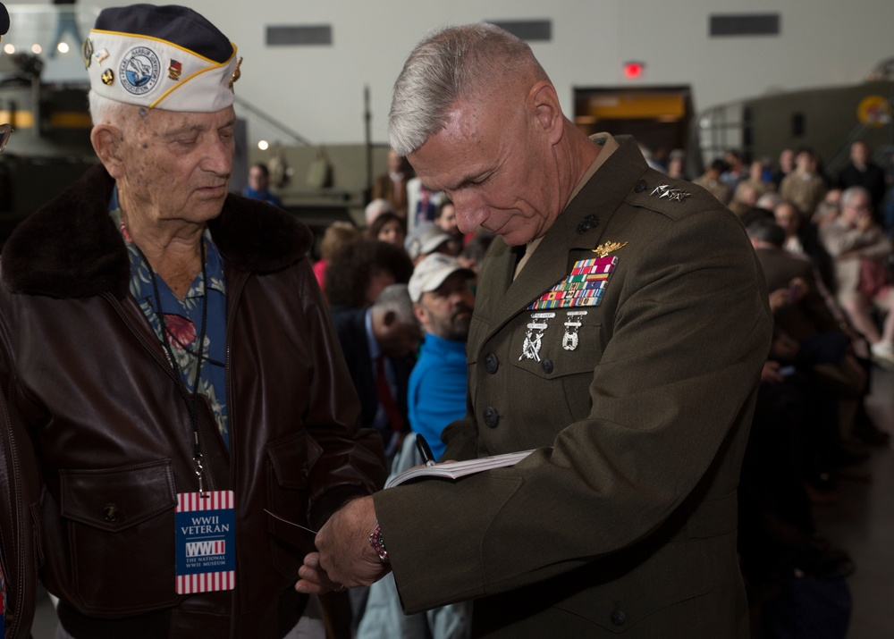 Marine Forces Reserve remembers the attack on Pearl Harbor