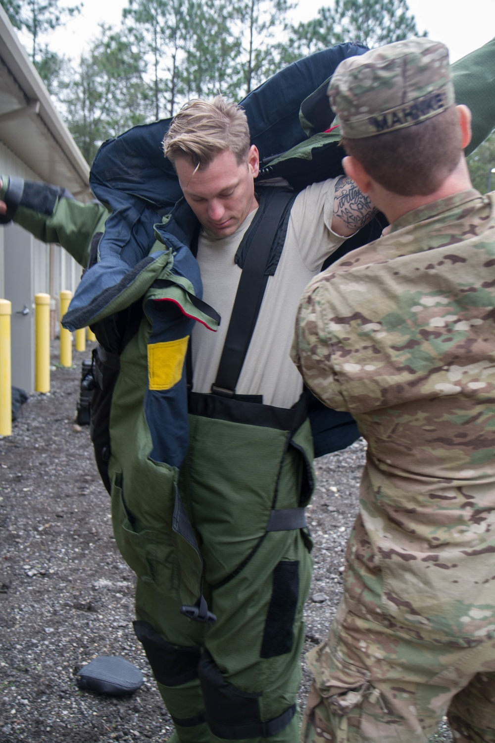 221st Explosive Ordnance Disposal Company – Mission Ready