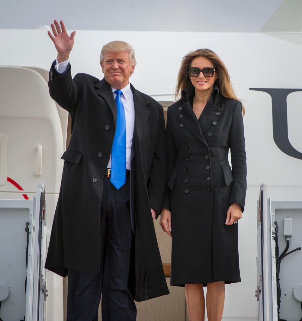 President-Elect Arrives at JBA