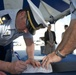 Coast Guard Cutter Bailey Barco signing over