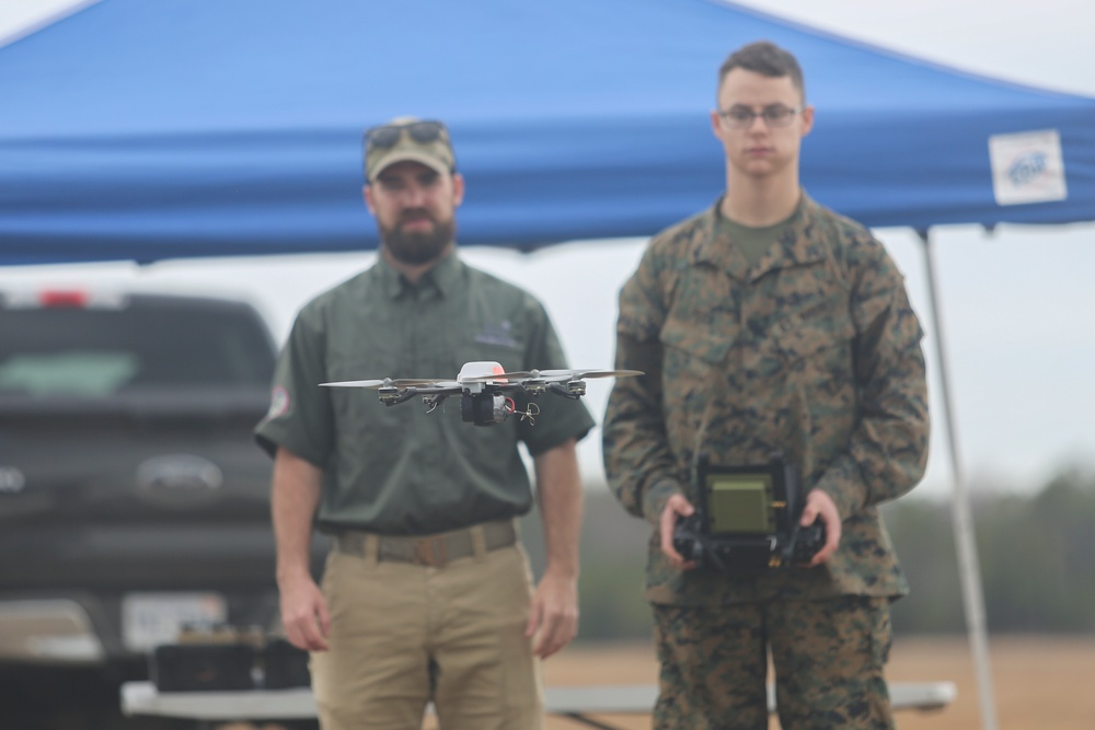 Flying High: Task Force Southwest Marines test new drone capabilities