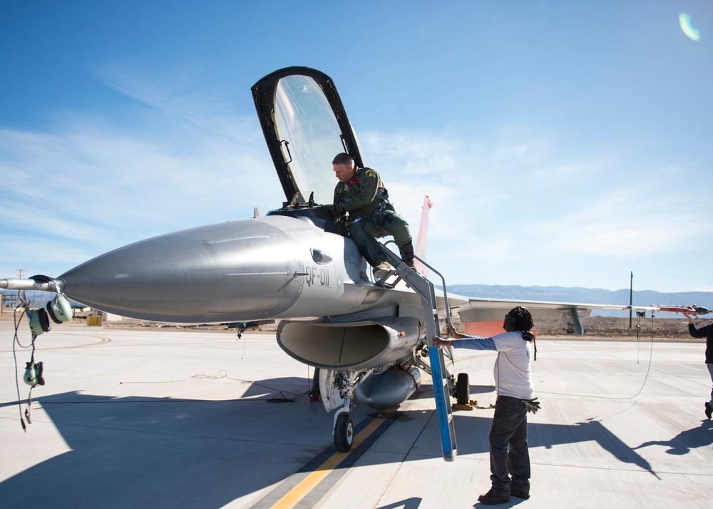 QF-16 takes first flight at Holloman
