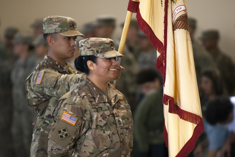 HHC, 746th Combat Sustainment Support Battalion deploys to Afghanistan in support of Operation Freedom's Sentinel