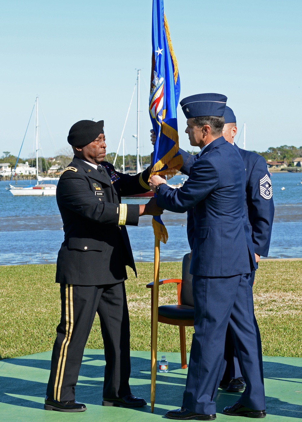 FLANG Change of Command