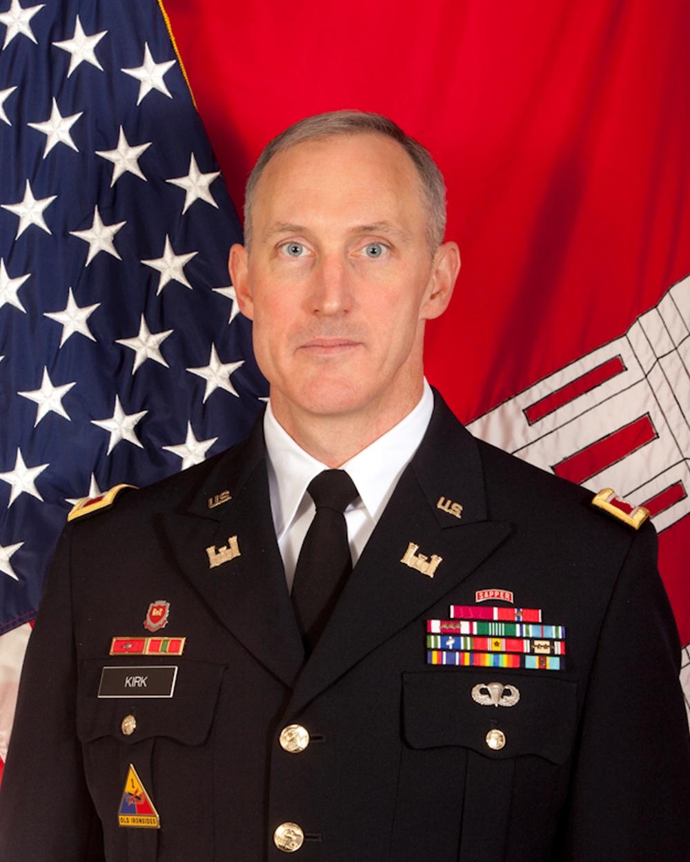 Col. Jason A. Kirk