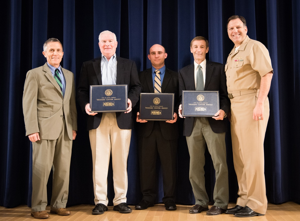 Carderock Division honors its 'Magnificent Eight'