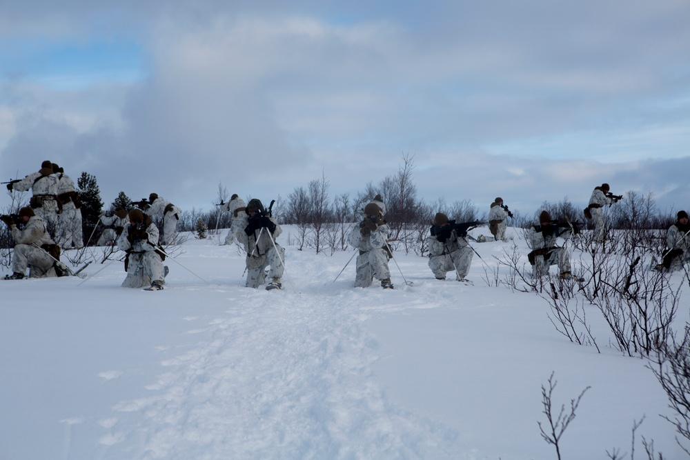 Marine Rotational Force Europe 17.1 conduct survival training