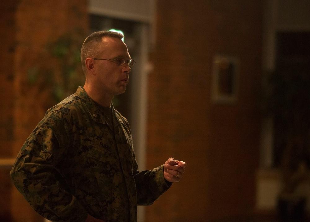 BSRF Commander Visits Norway