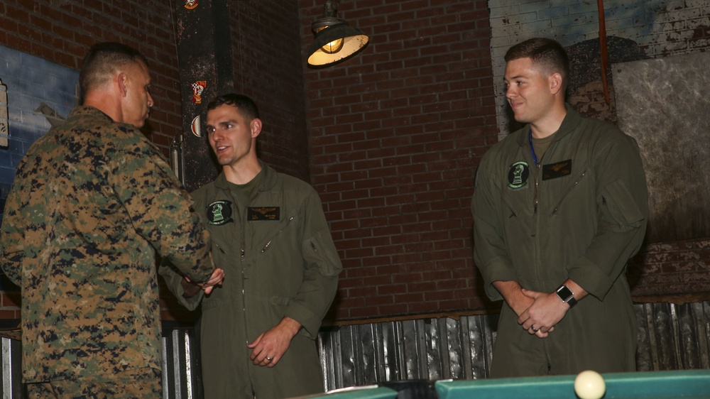 First Category One Pilots finish training on the F-35B Lighting II