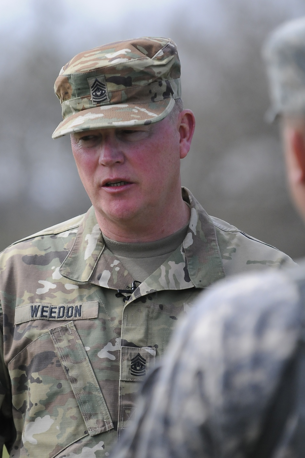Connect, understand, motivate: Command Sgt. Maj. Weedon's life as a student of leadership